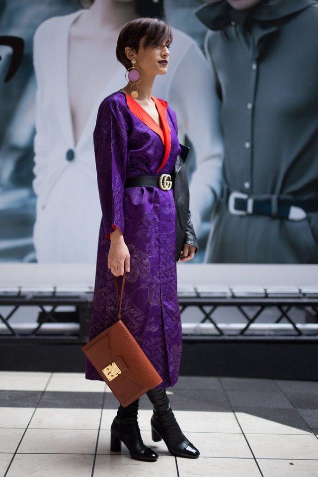 Tendencias Ultra Violet - el color del año 2018 Lo mejor de - k chen im retro stil