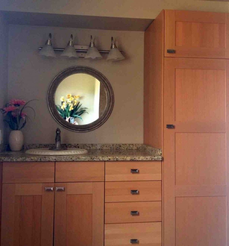 Using Kitchen Cabinets in Bathroom | Kitchen cabinets in ...
