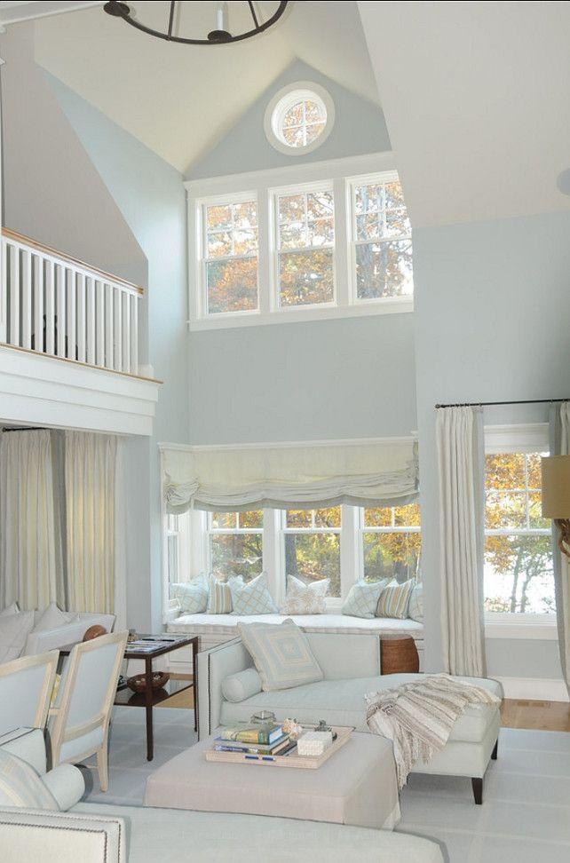 Benjamin Moore Regal Select Eggshell Quiet Moments 1563 Cozy Living Rooms Pinterest