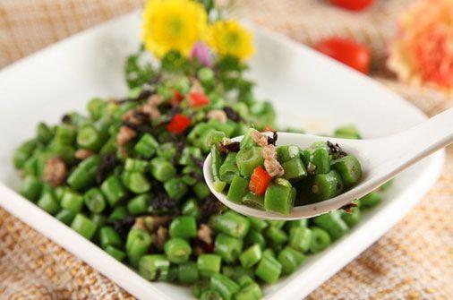 Beans & Jarred Pickled Olive leaves 蓬盛 香港橄榄菜ー橄欖菜ガンランツァイ 180g - 明華中国物産店