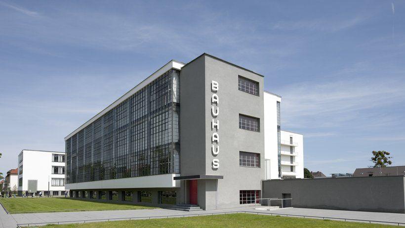 Bauhausstil Architektur architektur bauhausgebäude dessau walter gropius 1925 26