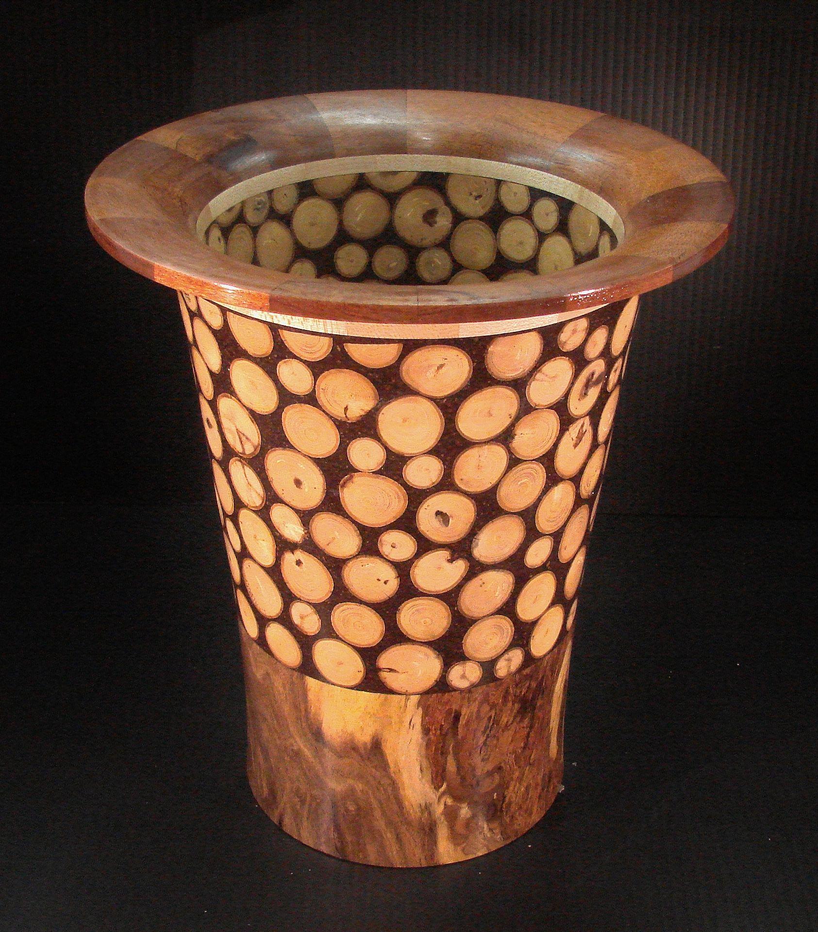 Turned wood limb slice vase of mesquite maple mahogany epoxy turned wood limb slice vase of mesquite maple mahogany epoxy and reviewsmspy