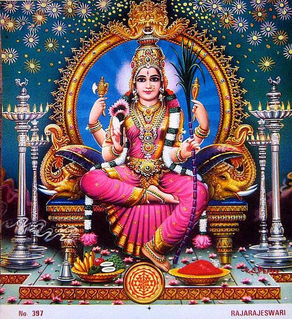 Lalita Hindu Art Durga Goddess Devi