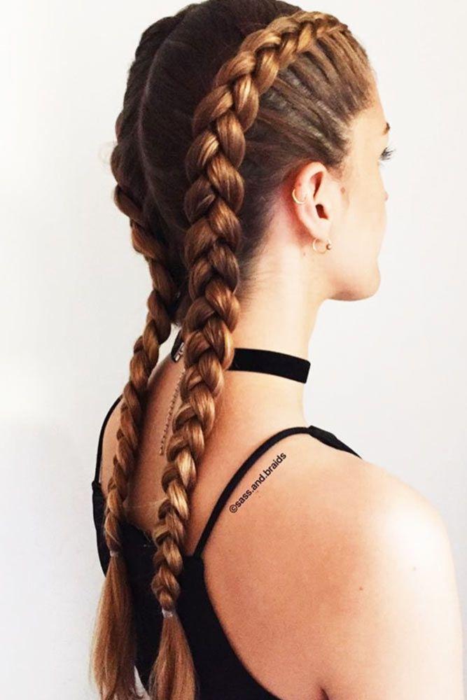 70 Cute And Creative Dutch Braid Ideas Lovehairstyles Com Dutch Braid Hairstyles Summer Hairstyles Braids For Long Hair