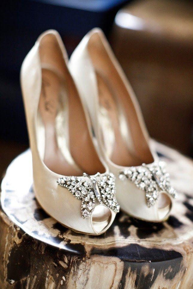 Hermosos diseños de zapatos de novia | Especial zapatos de bodas