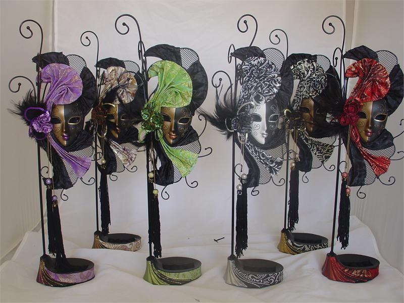 Masquerade Centerpiece Ideas | 800px | Ideals | Pinterest | Mardi ...