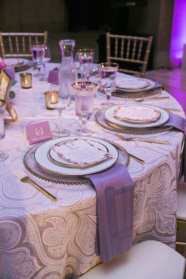 Luxury San Francisco Wedding At The Bently Reserve Purple Wedding