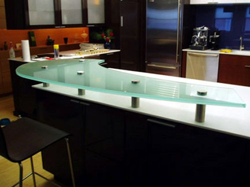 Glass Countertops Buy Glass Countertops Glass Countertops Kitchen Construction Kitchen Design Showrooms