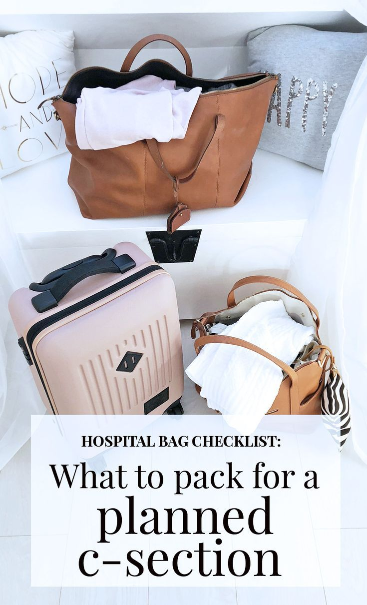 Hospital Bag Checklist: What to Pack for an Elective C ...