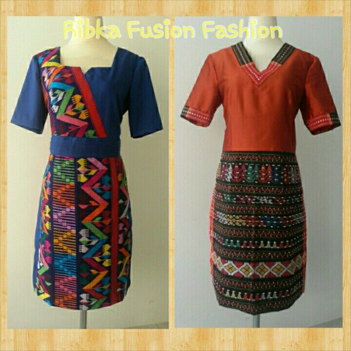 Tenun Dress Tenun Bima Dress Ulos Dress Ethnic Ribka Fusion