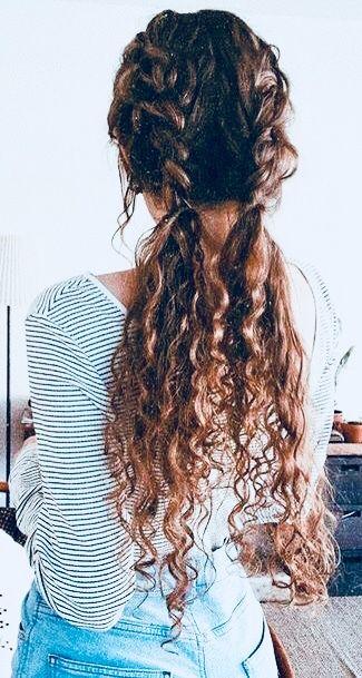 Pin By Manu Sl On Peinados Curly Hair Styles Curly Hair Styles Easy Hair Styles