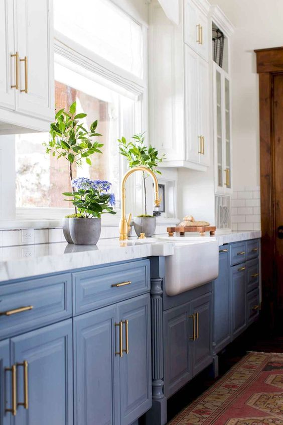 Amazing Farmhouse Kitchen Cabinets Designs Ideas