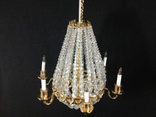 Heidi ott dollhouse miniature light 1 12 scale crystal chandelier heidi ott dollhouse miniature light 1 12 scale crystal chandelier yl7702 300 aloadofball Choice Image
