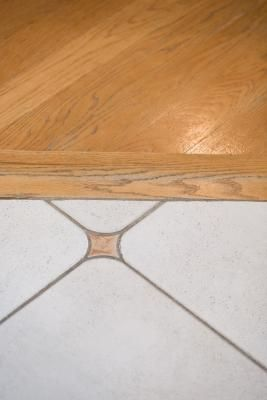 Distance Between Hardwood Ceramic Tile For T Molding