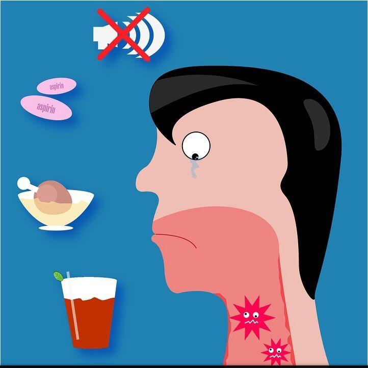 التهاب الحلق أعراض التهاب الحلق أسباب التهاب الحلق طرق علاجه والوقاية منه Help Sore Throat Sore Throat Remedies Throat Remedies