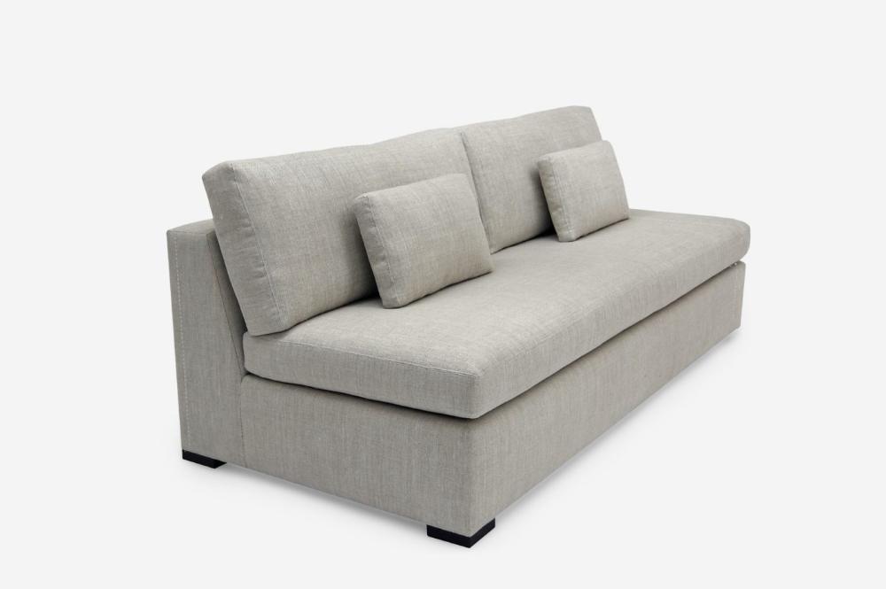 Blanche Sleeper Sofa (Armless) in 2020 Armless sofa
