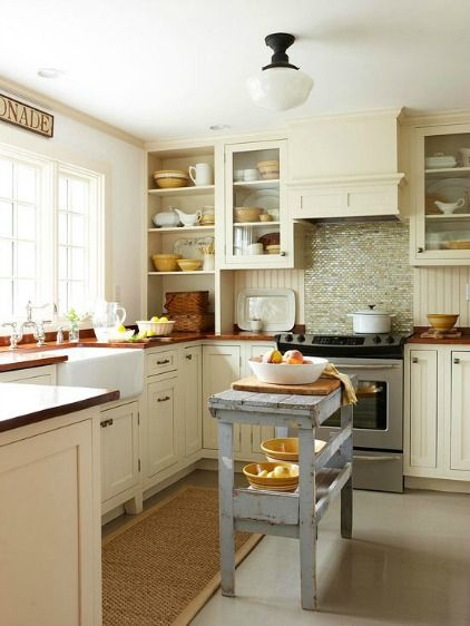 Small Space, Big Style: Kitchen Design, Adore Your Place ...