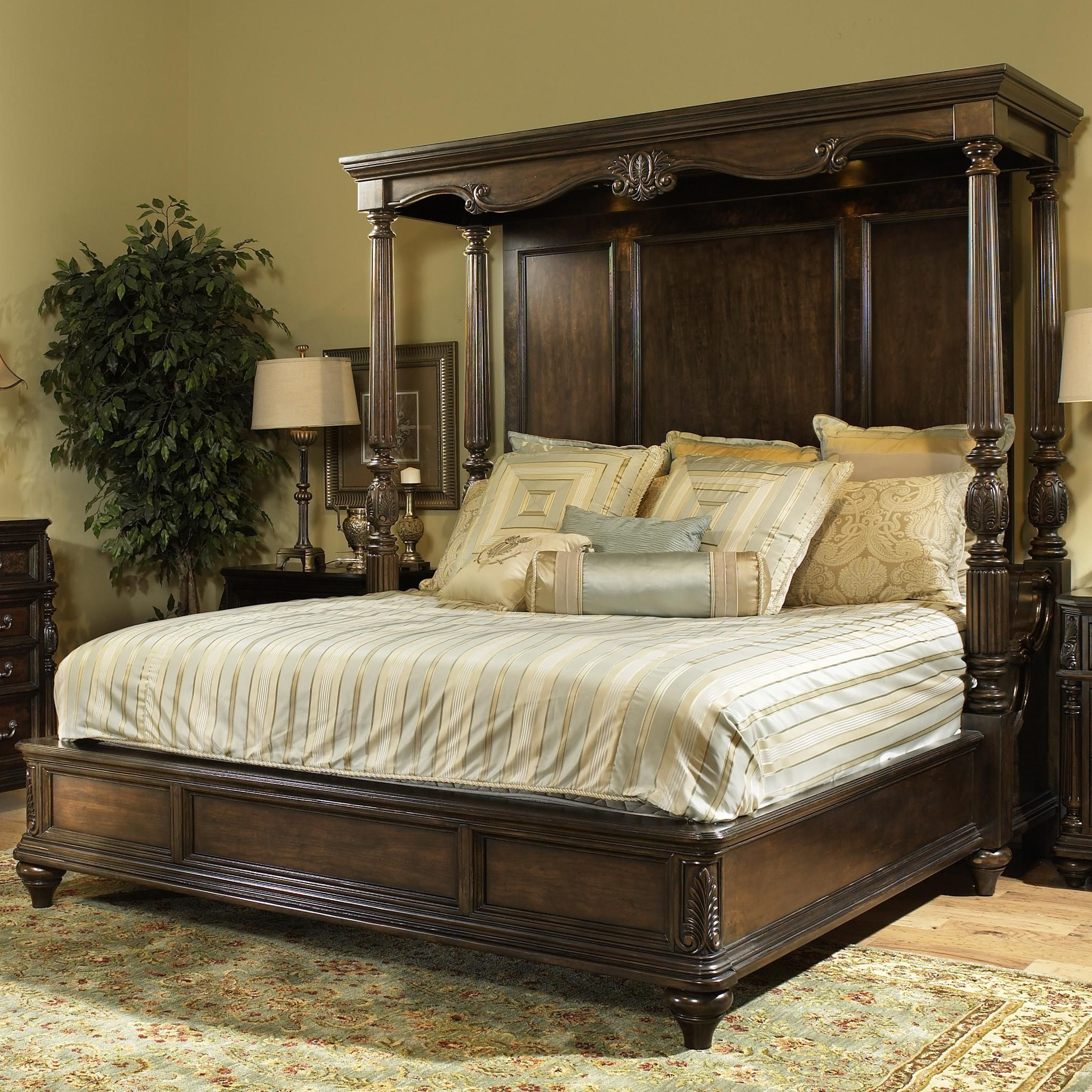 Chateau Marmont King Canopy Bed By Fairmont Designs Available At Royal Furniture For A Limited