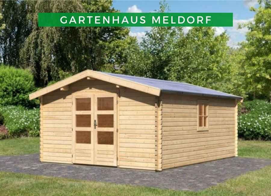 Karibu Woodfeeling Gartenhaus Meldorf 7 in 2019 Karibu