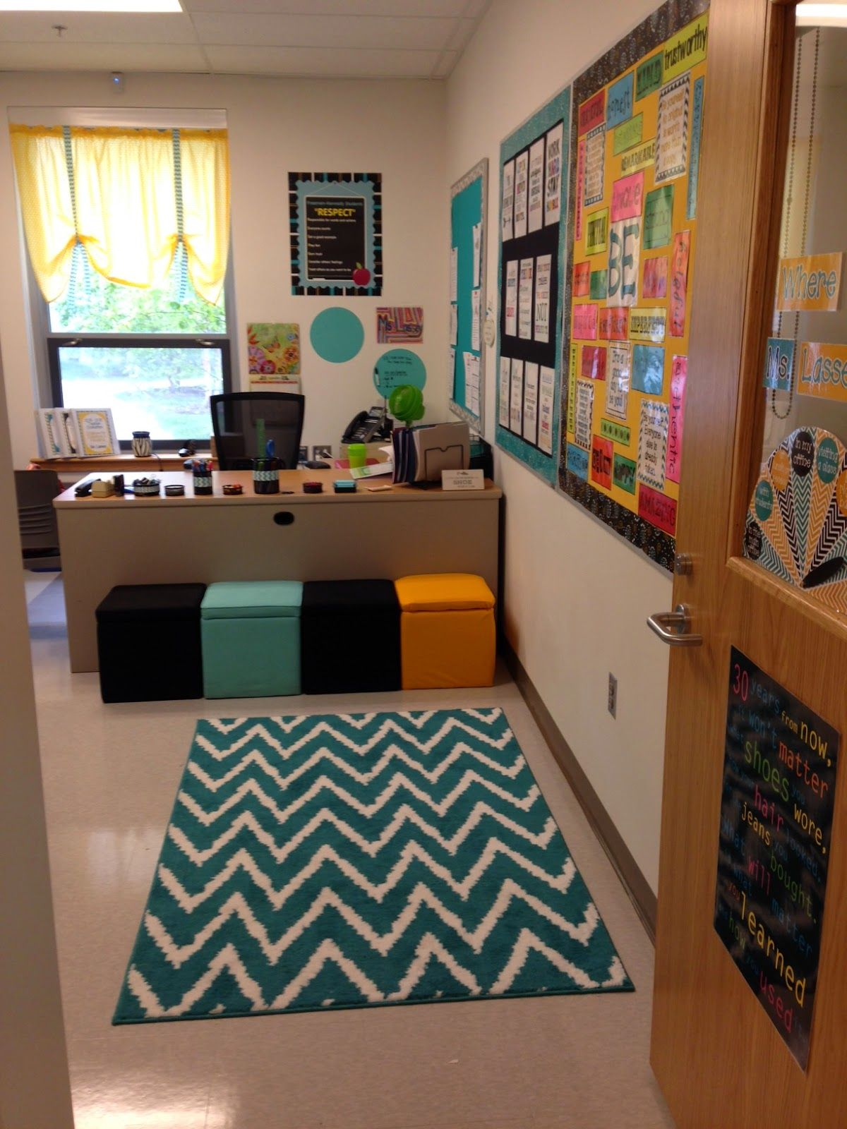 Creative elementary school counselor my office for the - Work office decorating ideas pictures ...