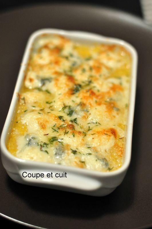 Photo of Polenta au gorgonzola de Jamie – Coupe et cuit