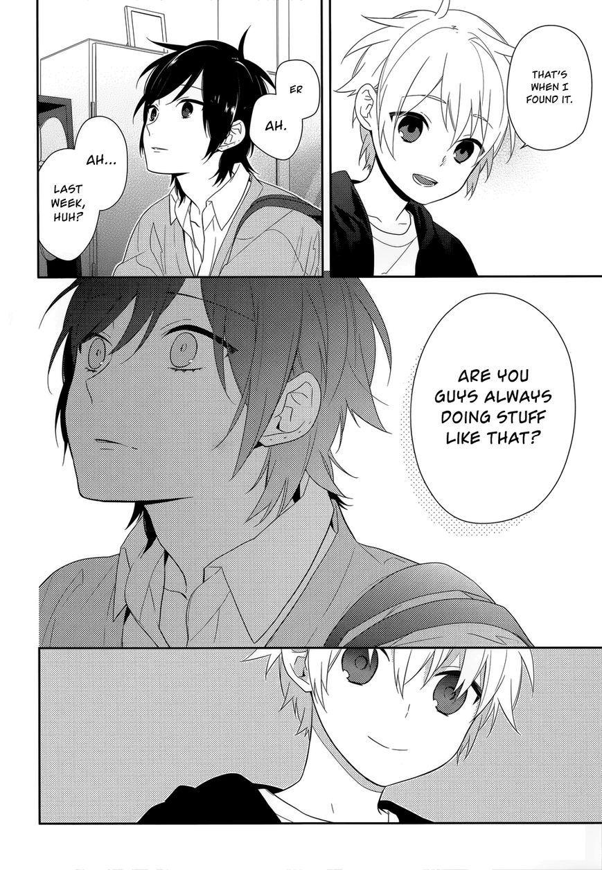 Horimiya 37 page 28horimiya manga anime manga naruto