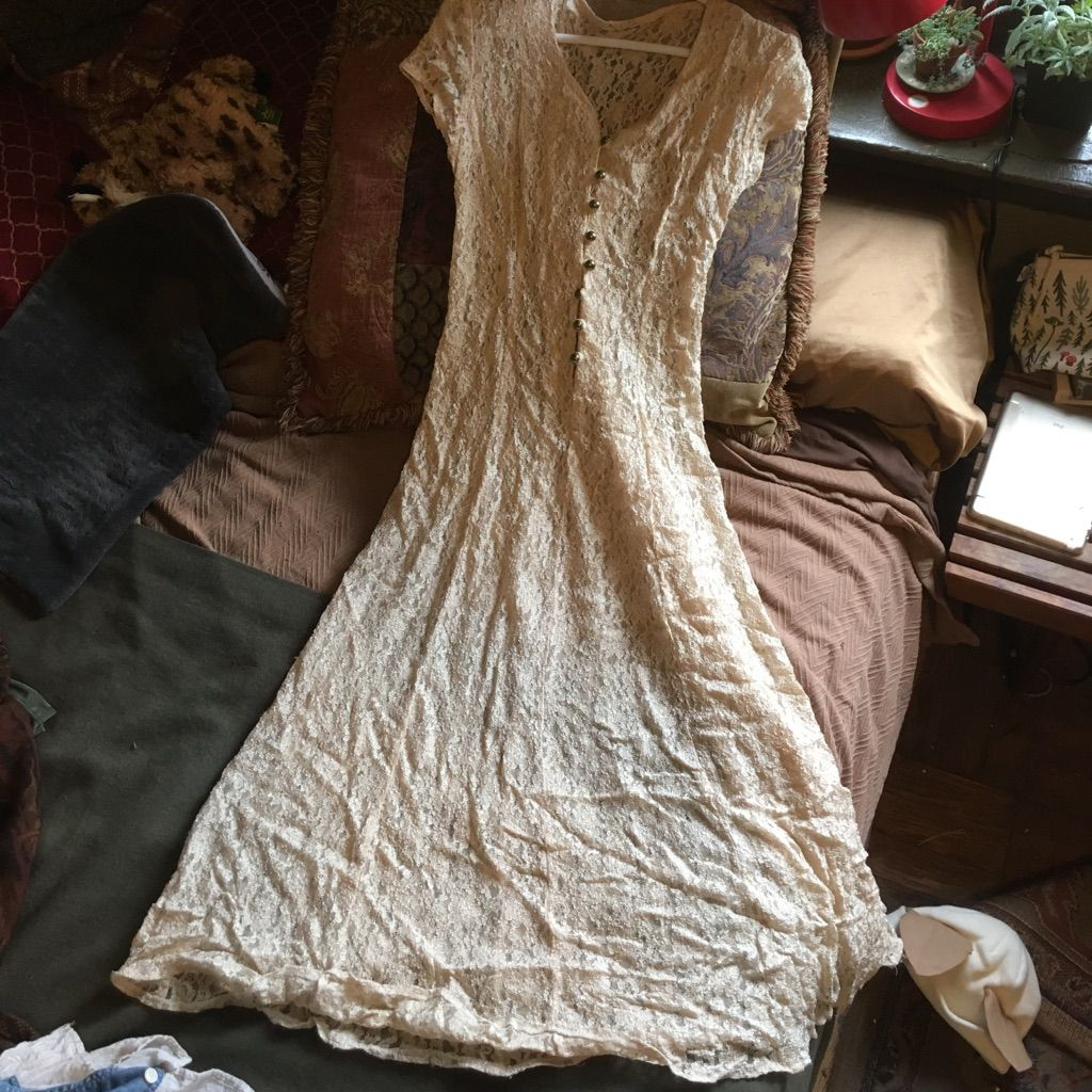 Lace boho wedding nylon midi dress vintage pinterest products