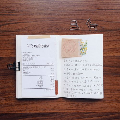 親愛的手帳:京都消費紀錄 @ Page.伴隨著美好 :: 痞客邦 PIXNET ::
