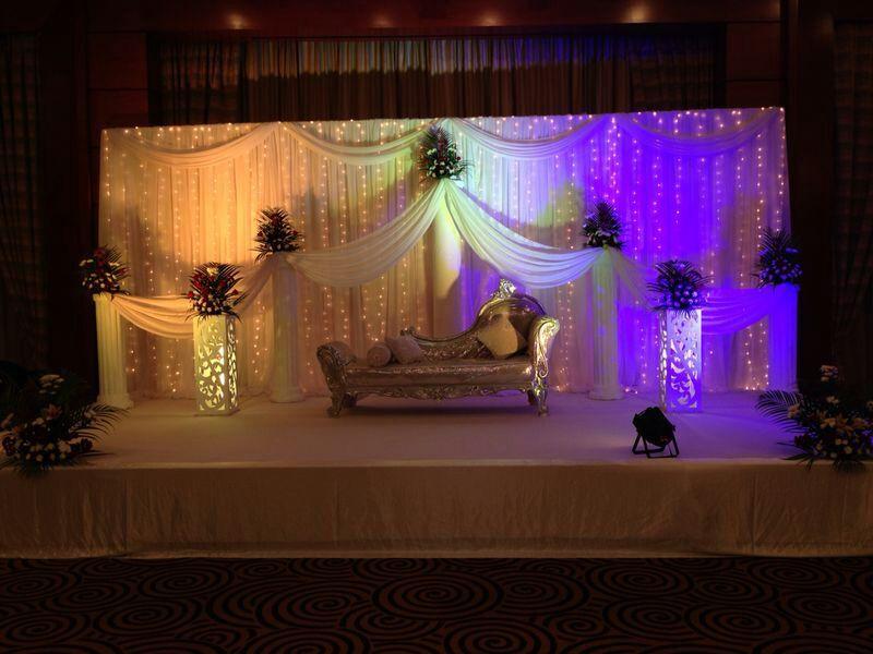 Wedding Stage Koshadecoration Backdropsarab Weddingpakistani