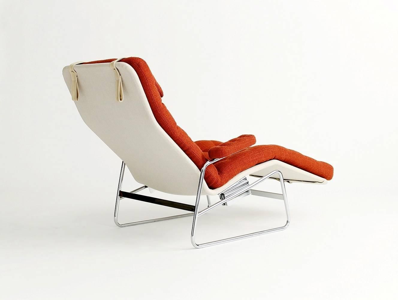 Sam Larsson Fenix Reclining Lounge Chair By Dux From A Unique Collection Of Cool Furniture Antiques Chair