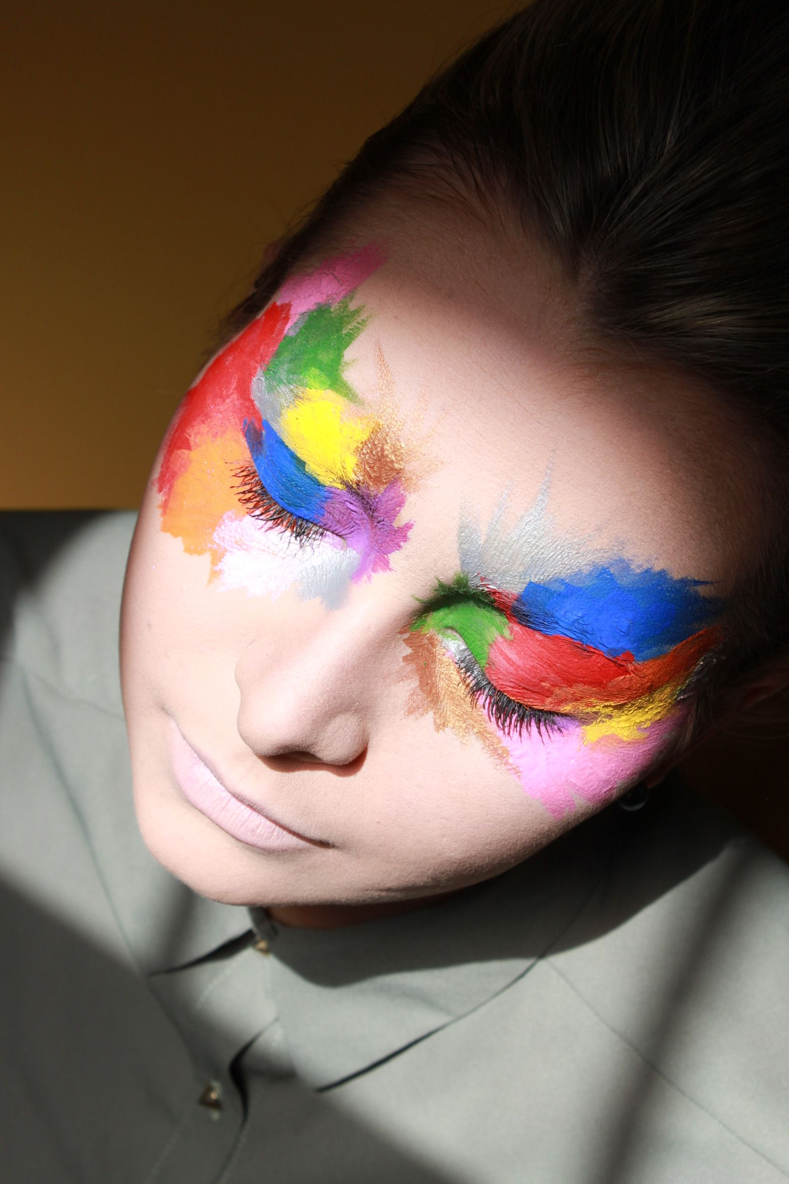 Maquillage Elodie D Face painting, Face, Beautiful face