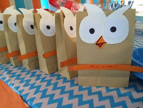 Giggle And Hoot Surprise Bag Birthday Party Decoration By Mytulip