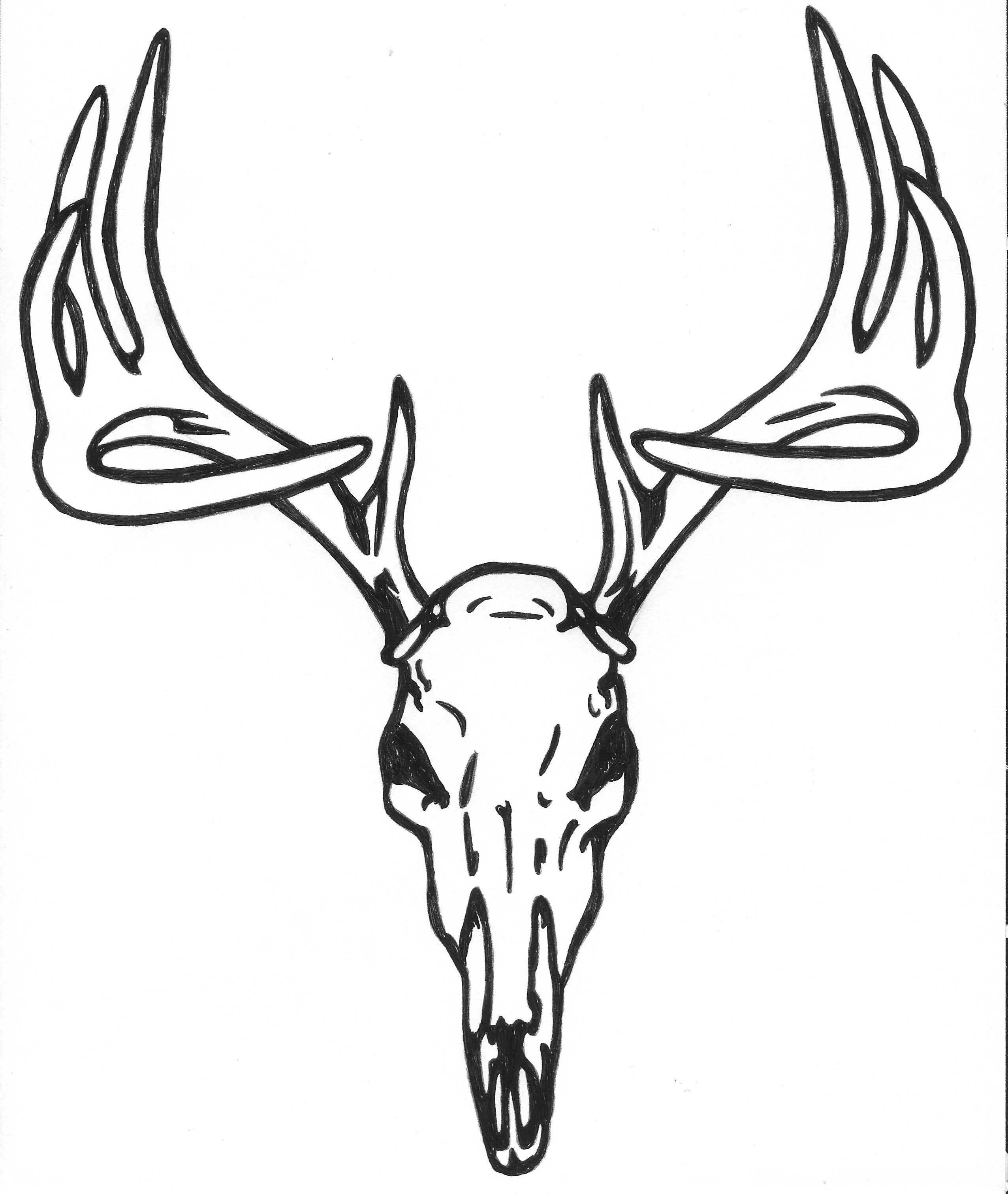 deer skull tattoos image galleries imagekb com tattoos