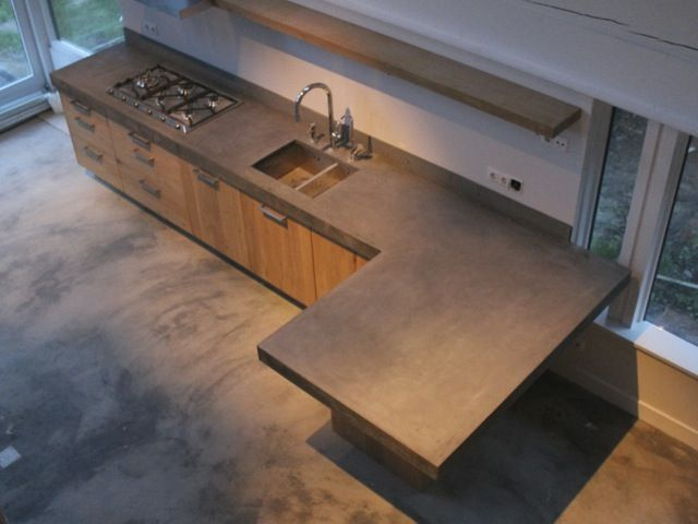 Keuken Ikea Houten : Whitewash koak keuken ikea kasten met eiken houten fronten en
