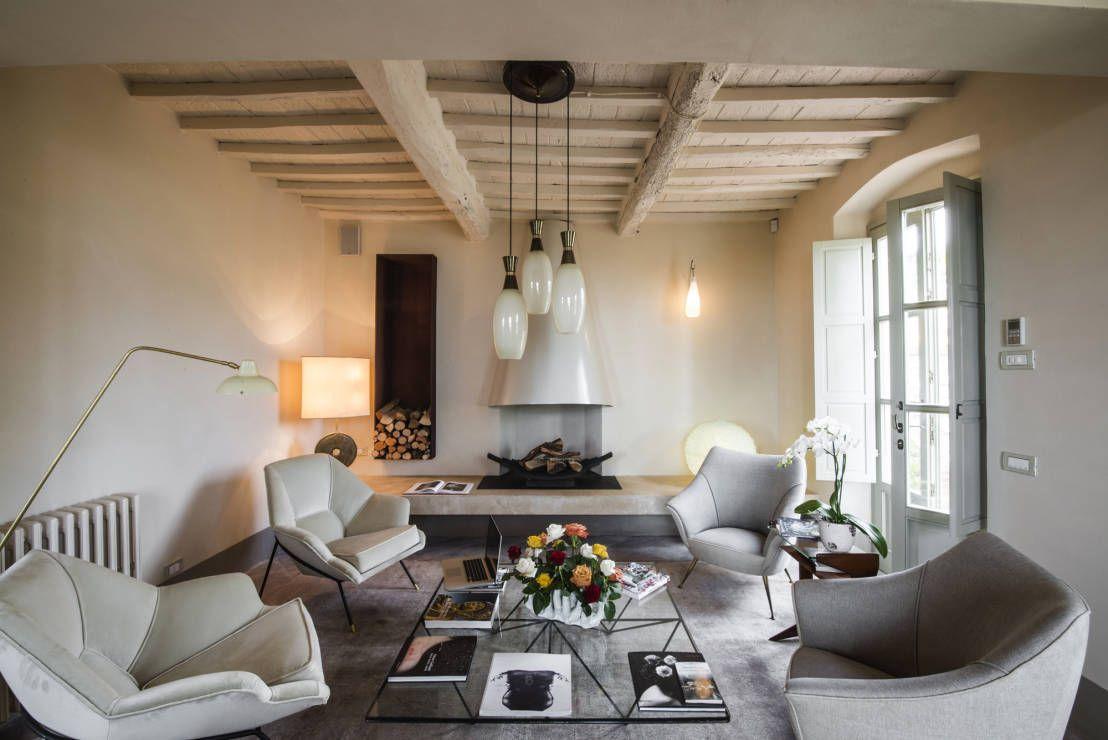 Soggiorno Rustico ~ 5 casali per 5 soggiorni tra rustico e moderno interiors