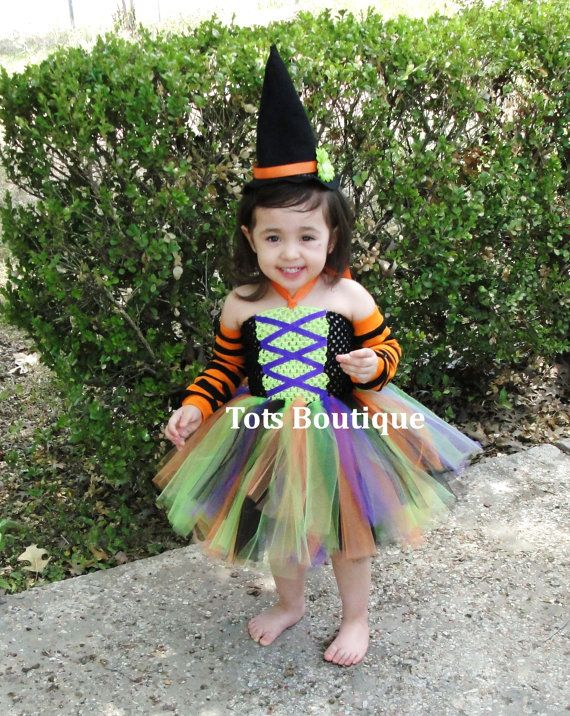 this is our lil witch tutu dress it comes with a black and light green crochet top that gives the corset look with purple ribbons - Baby Witch Costumes Halloween