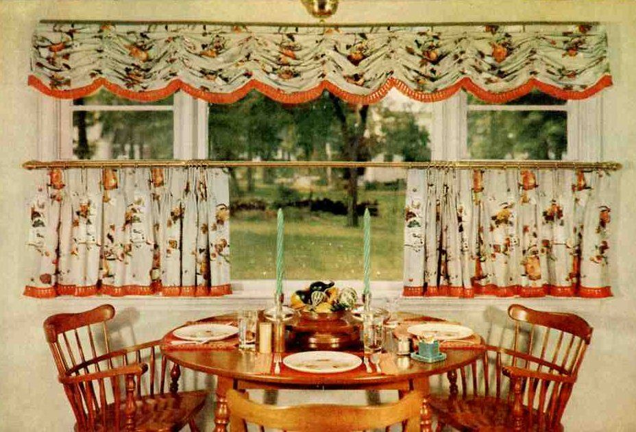 early american dining area