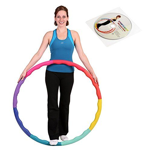 """Acu Hoop® 3M - 3lb (Dia.38"""") Medium, Weighted Hula Hoop for Workout with 50 minutes Workout Lesson DVD null http://www.amazon.com/dp/B004TNYE06/ref=cm_sw_r_pi_dp_013awb1RAQ74W"""