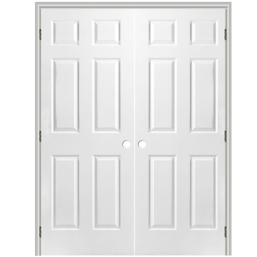 Reliabilt Prehung Hollow Core 6 Panel Interior Door Common 36 In