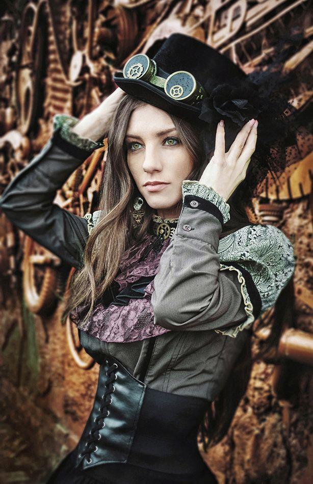 Steampunk alexandra by on deviantart steampunk alexandra pinterest - Steampunk style vestimentaire ...