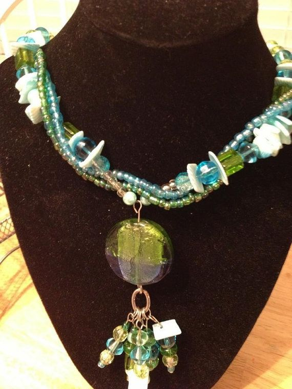 The Water Necklace by ajonesofalltrades on Etsy, $20.00