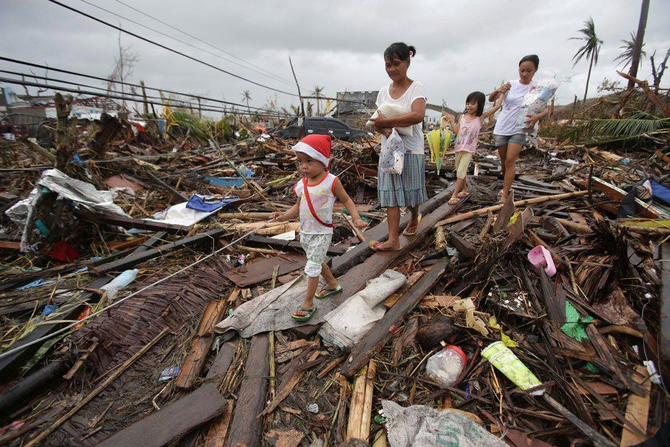 Philippines typhoon scale, delivery challenges mean few in corpse