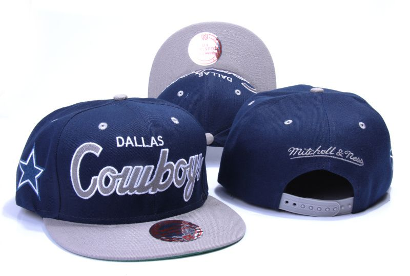1eed0c0edb1 DALLAS COWBOYS MITCHELL NESS SNAPBACK HATS - BLUE 309