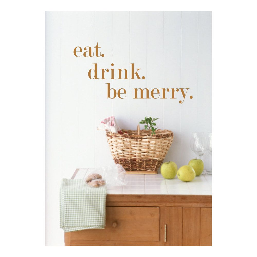 Kitchen Wall Decal Eat Drink Be Merry 24 00 Via Etsy In Red Kitchen Back Splash Kitchen Wall Decals Kitchen Wall Stickers Wall Decor Stickers
