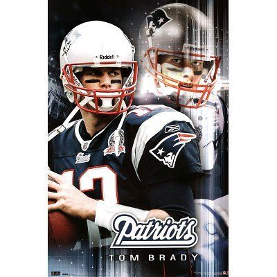Trends New England Patriots Tom Brady Poster By Poster Revolution 12 80 Full Color Team Graphics New England Patriots New England Patriots Football Patriots