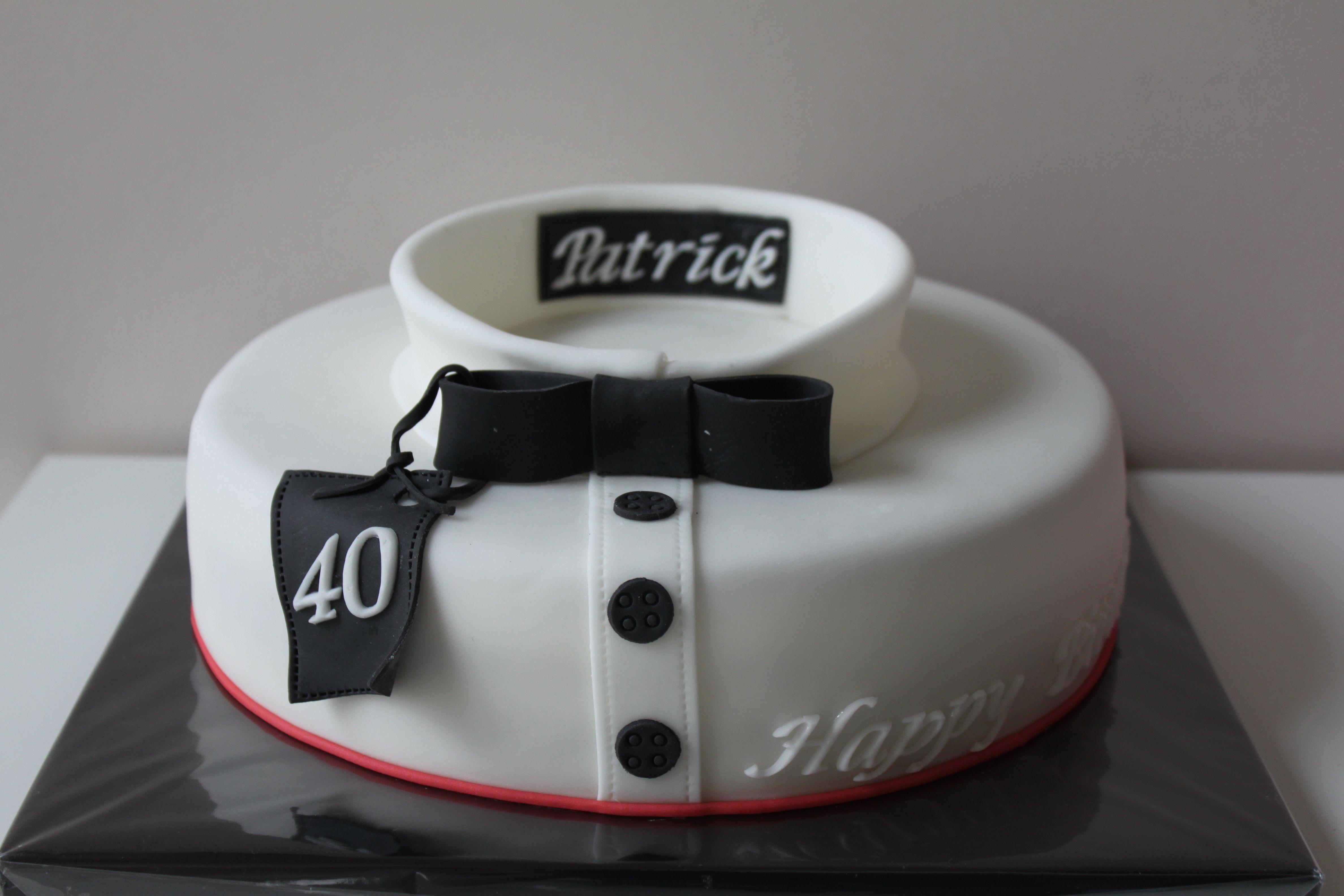 40-jarige cake