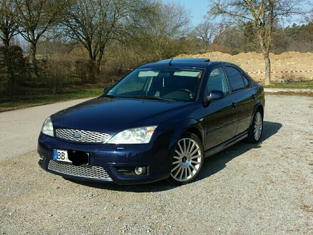 Ford Mondeo 3 0 V6 St 220 Blau 1 Ford Mondeo Cars Modified Cars