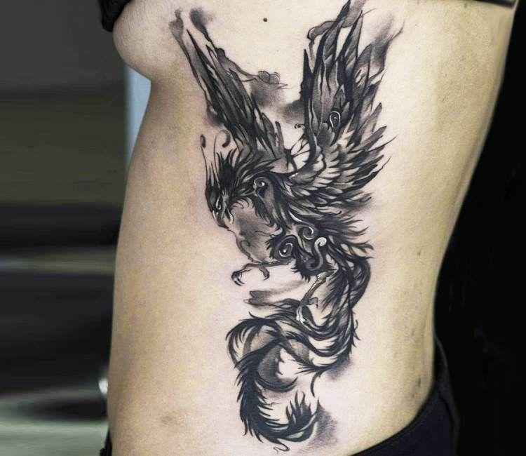 Phoenix Tattoo By Sergey Butenko Post 19739 Tattoos Body Art Tattoos Phoenix Tattoo