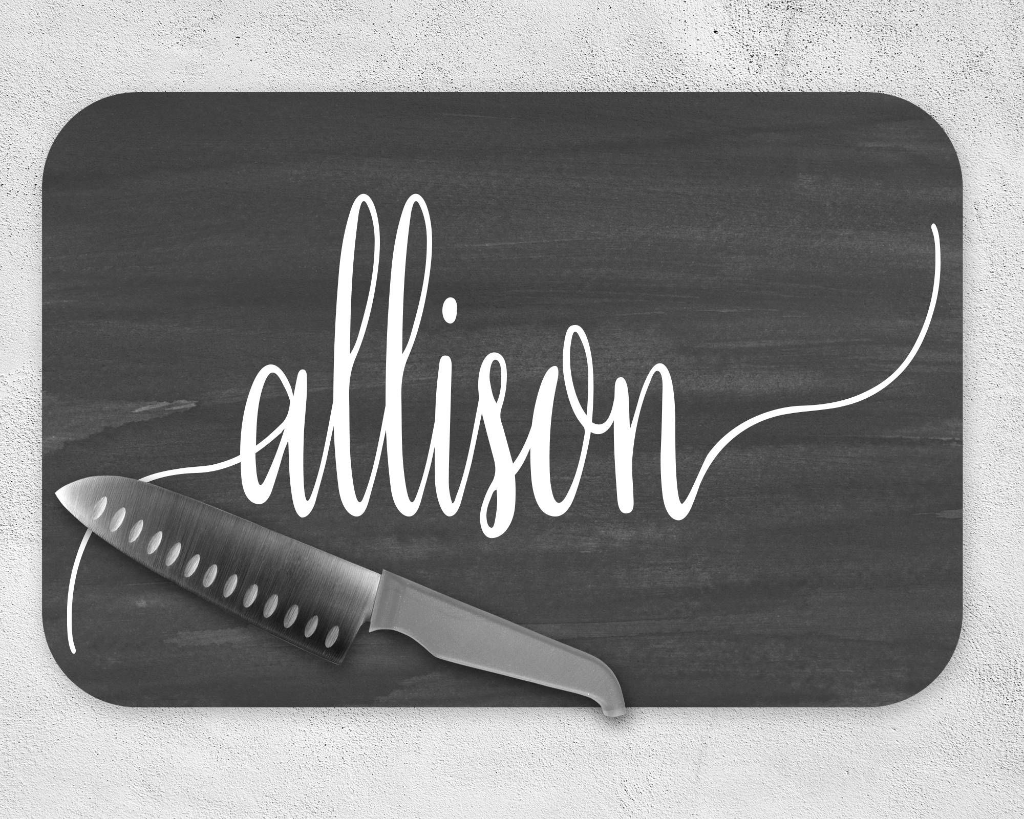 Housewarming Gift Mother S Day For Him Her Personalized Gl Cutting Board Customized Kitchen