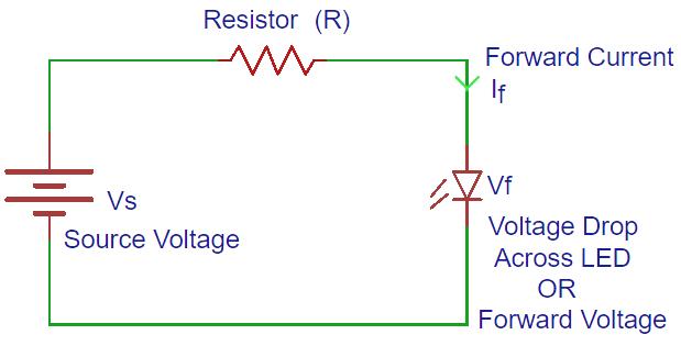 Simple Led Circuit Diagram